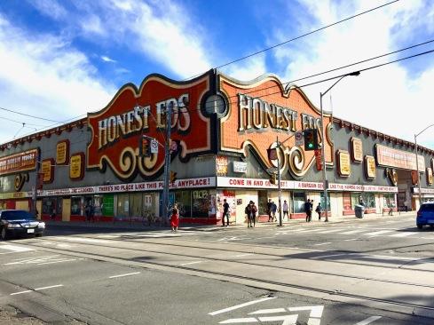Demise of Honest Ed's, Toronto