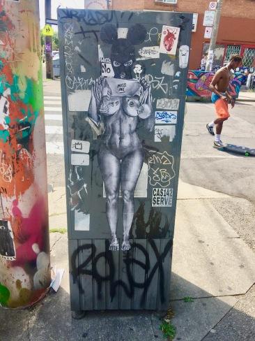 Kensington Market grafitti